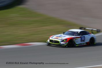 #30 Ram Racing Mercedes AMG GT - Tom Onslow-Cole, Paul White and Stuart Hall.