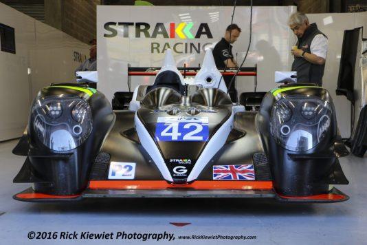 #42 Strakka Racing Gibson 015S Nissan - Nick Leventis, Danny Watts, Jonny Kane