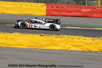 #2 Porsche 919 hybrid LMP1 - DUMAS Romain (fra) JANI Neel (che) LIEB Marc (ger) during the 2016 FIA WEC World Endurance Championship, 6 Hours of Spa from May 4 to 7 2016, at Spa Francorchamps, Belgium