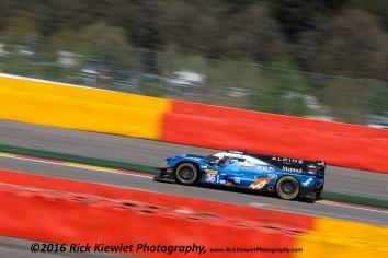 #36 Signatech Alpine A460 Nissan - Gustavo Menezes, Nicolas Lapierre, Stéphane Richelmi