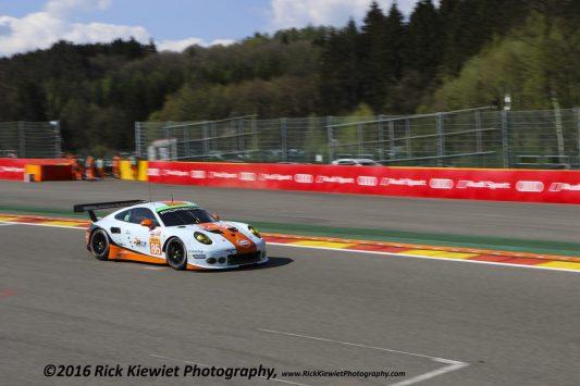 #86 Gulf Racing Porsche 911 RSR - Michael Wainwright, Adam Carroll, Ben Barker