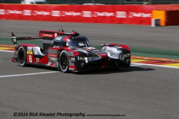 #8 Audi Sport Team Joest R18 - Lucas Di Grassi, Loïc Duval and Oliver Jarvis. Winners of the FIA WEC 6hrs of Spa-Francorchamps