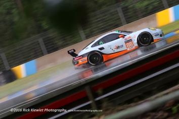 #86 GULF RACING UK PORSCHE 911 RSR - Michael WAINWRIGHT, Adam CARROLL & Benjamin BARKER