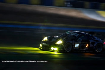 #88 ABU DHABI‐PROTON RACING PORSCHE 911 RSR - Khaled AL QUBAISI, David Heinemeier HANSSON & Patrick LONG