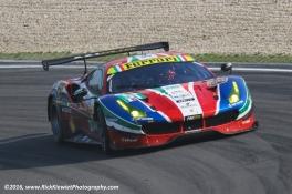 #51 AF Corse Ferrari 488 GTE - Gianmaria Bruni, James Calado