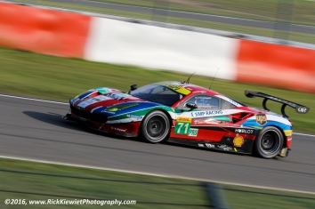 #71 AF Corse Ferrari 488 GTE - Davide Rigon, Sam Bird