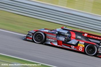 #8 Audi Sport Team Joest R18 - Lucas Di Grassi, Loïc Duval, Oliver Jarvis