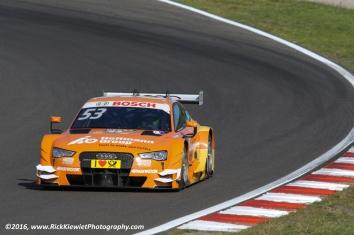 Winner of the race on Sunday. #53 Audi RS5 DTM - Jamie Green