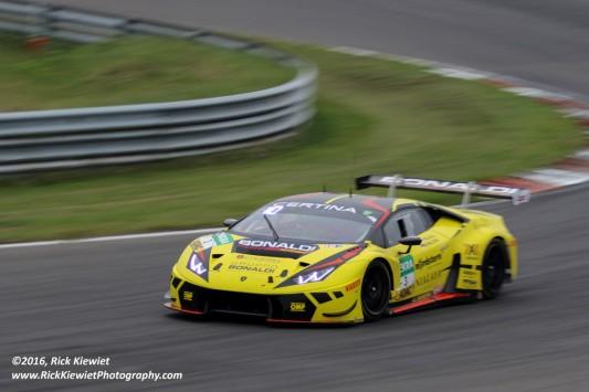 Bonaldi Motorsport Lamborghini Huracán GT3 - P. Kujala, M. Pavlovic