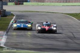 #8 Toyota TS050 Hybrid | Anthony Davidson / Sebastien Buemi / Kazuki Nakajima #66 Ford Chip Ganassi Racing Team UK Ford GT | Stefan Mücke / Olivier Pla