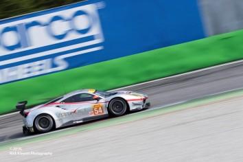 #54 Spirit Of Race Ferrari F488 GTE | Thomas Flohr / Francesco Castellacci / Miguel Molina