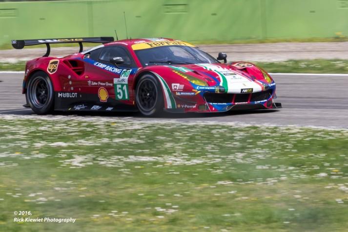 #51 AF Corse Ferrari F488 GTE | James Calado / Alessandro Pier Guidi