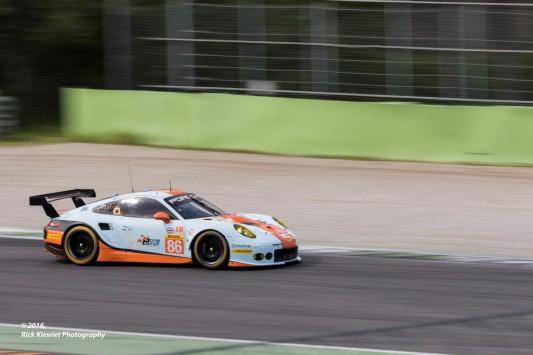 #86 Gulf Racing Porsche 911 RSR | Michael Wainwright / Ben Barker / Nick Foster