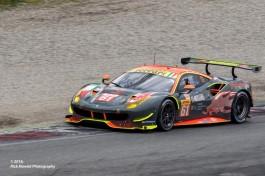 #61 Clearwater Racing Ferrari F488 GTE | Weng Sun Mok / Keita Sawa / Matt Griffin