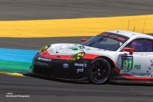 #91 Porsche GT Team Porsche 911 RSR | Richard Lietz / Frederic Makowiecki / Patrick Pilet