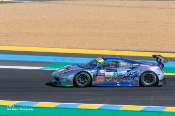 #60 Clearwater Racing Ferrari 488 GTE | Richard Wee / Alvaro Parente / Hiroki Kato