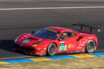 #82 Risi Competitione Ferrari 488 GTE | Pierre Kaffer / Toni Villander / Giancarlo Fisichella