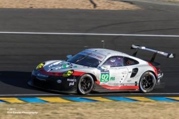 #92 Porsche GT Team Porsche 911 RSR | Michael Christensen / Kevin Estre / Dirk Werner
