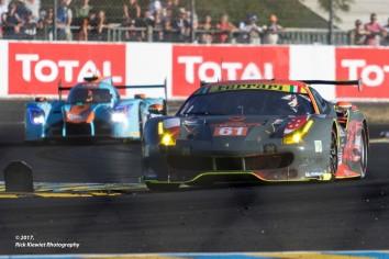 #61 Clearwater Racing Ferrari 488 GTE | Weng Sun Mok / Keita Sawa / Matt Griffin