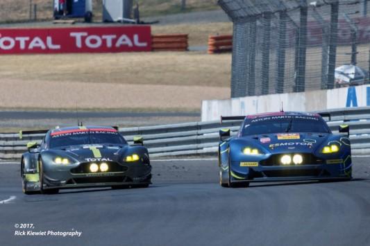#95 Aston Martin Racing Aston Martin Vantage | Nicki Thiim / Marco Sørensen / Richie Stanaway