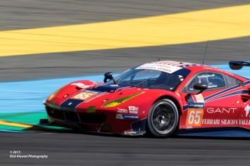 #65 Scuderia Corsa Ferrari 488 GTE | Christina Nielsen / Alessandro Balzan / Bret Curtis