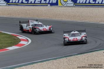 #1 Porsche 919 Hybrid | Neel Jani / André Lotterer / Nick Tandy & #2 Porsche 919 Hybrid | Brendon Hartley / Timo Bernhard / Earl Bamber