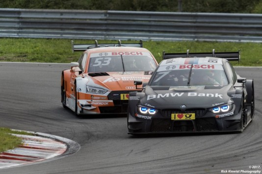 #7 Bruno Spengler - BMW M4 DTM #53 Jamie Green - Audi RS5 DTM