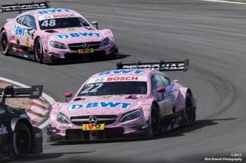 #22 Lucas Auer - Mercedes-AMG C 63 DTM #48 Edoardo Mortara - Mercedes-AMG C 63 DTM