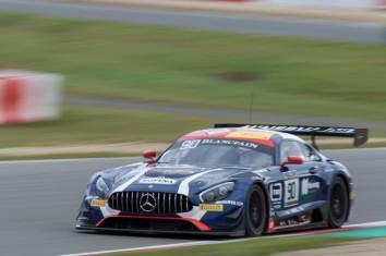 AKKA ASP Mercedes AMG GT3 - Rafaele Marciello / Michael Meadows
