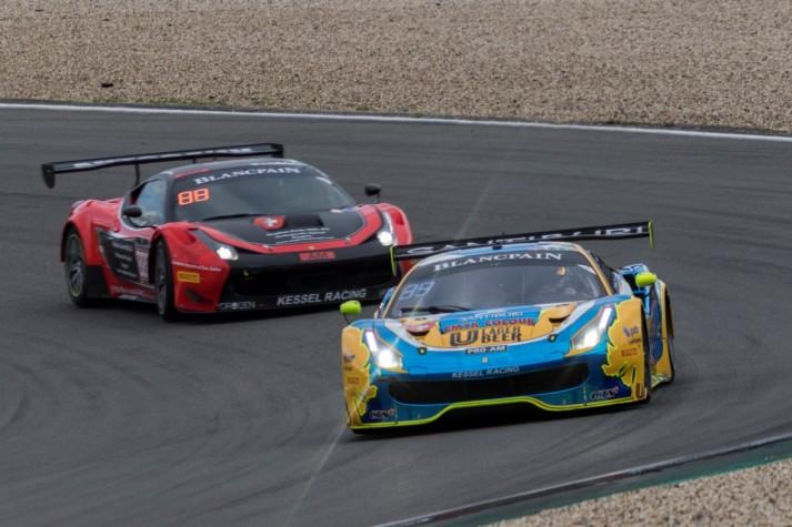 Kessel Racing TP12 Ferrari 488 GT3 - Carlo van Dam / Piti Bhirombhakdi