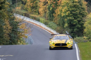 Black Falcon Mercedes AMG GT3 - A. Al Faisal / H. Haupt
