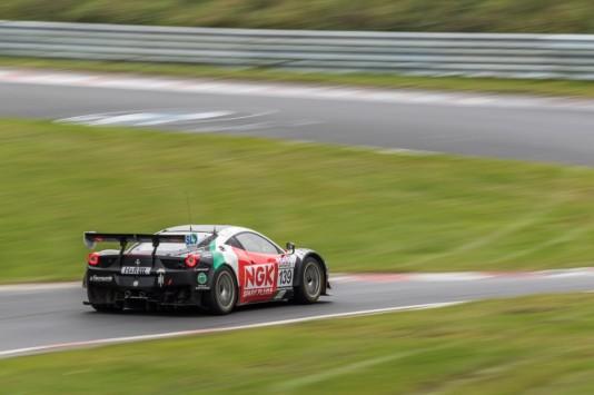 NGK Spark Plug Racing Team Ferrari 458 - M. Jäger / S. Köhler / C. Kohlhaas