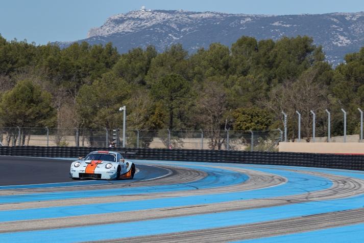 #86 Gulf Racing UK Porsche 911 RSR - Michael WAINWRIGHT \ Benjamin BARKER \ Alex DAVISON