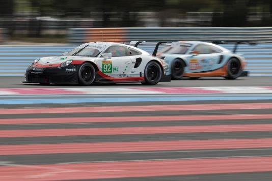 #92 Porsche GT Team Porsche 911 RSR - Michael CHRISTENSEN \ Kevin ESTRE