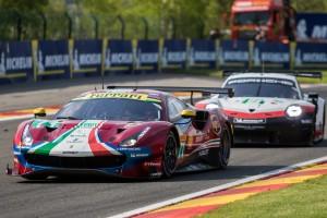 #71 AF Corse Ferrari 488 GTE EVO - Davide RIGON \ Sam BIRD