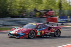 #51 AF Corse Ferrari 488 GTE EVO - Alessandro PIER GUIDI \ James CALADO