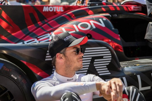 André Lotterer right before the start of the race