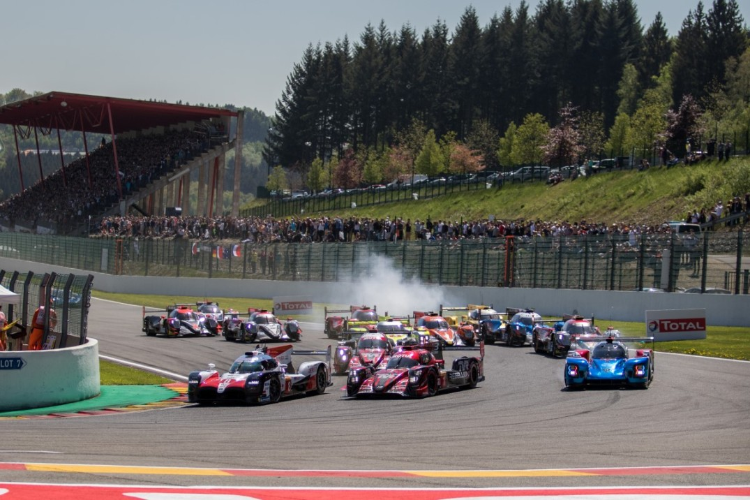 Start of the 2018 FIA WEC 6h of Spa and thereby the 2018/2019 SuperSeason!