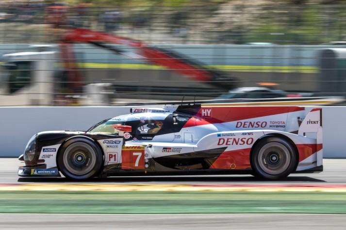 #7 Toyota Gazoo Racing TS050 - Hybrid - Mike CONWAY \ Jose Maria LOPEZ \ Kamui KOBAYASHI