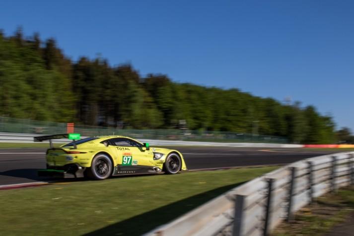 #97 Aston Martin Racing Aston Martin VANTAGE AMR - Alex LYNN \ Maxime MARTIN \ Jonathan ADAM