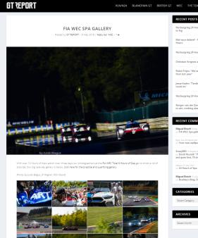 FIA WEC Spa gallery