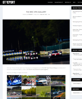FIA WEC Spa gallery