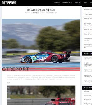 FIA WEC Season Preview