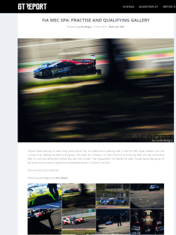 FIA WEC Spa: Practise and Qualifying gallery
