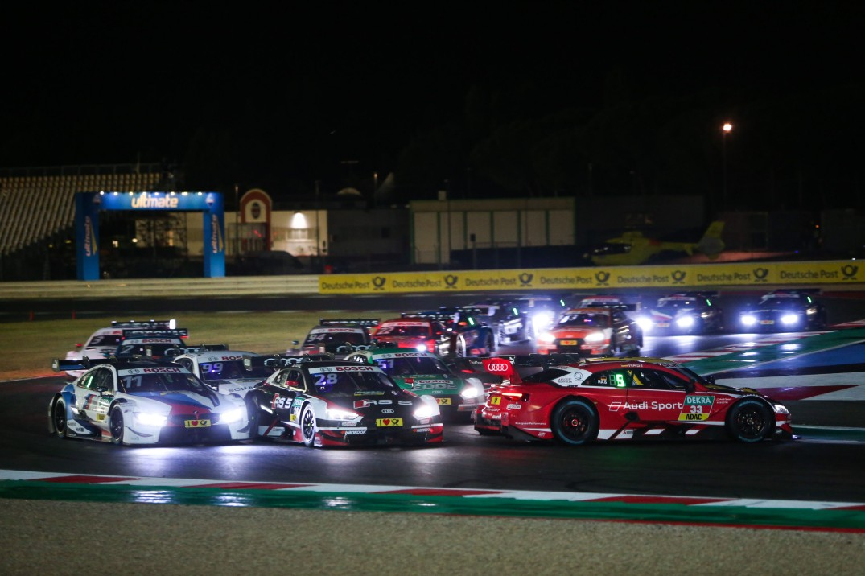 Motorsports: DTM race Misano